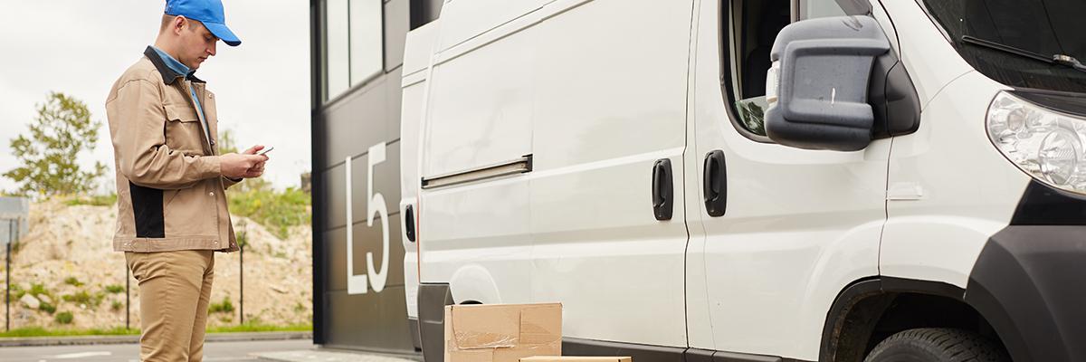 Transit van hire for dispatch