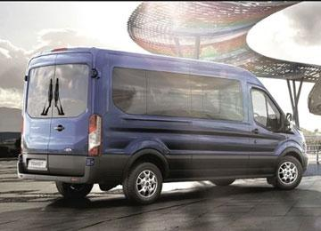 Hire a minibus for up to 16 people and drive it on your ordinary full license?