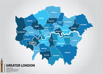 Vans to hire throughout London covering all of the 33 London Boroughs