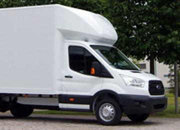 Can I hire a 3.5 ton or a 7.5 ton Luton Van on my license?