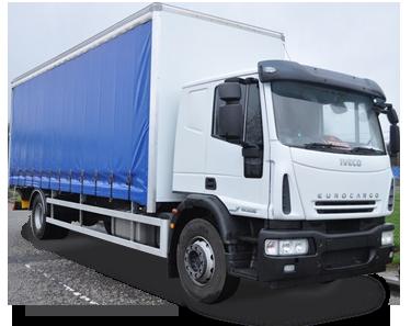 18 Tonne Curtain Truck