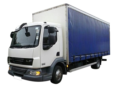 7.5 Tonne Curtain Side Truck