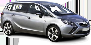 Vauxhall Zafira 5 + 2