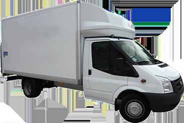 Ford Luton Tail Box Lift Truck